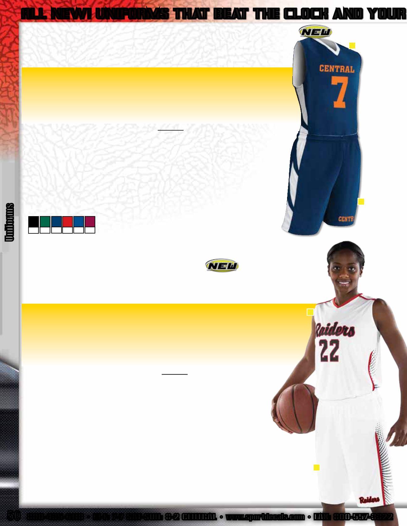 529add193173 Basketball 2014-15  - page 50. Uniforms