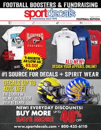 Sportdecals Football Booster Catalog 2016