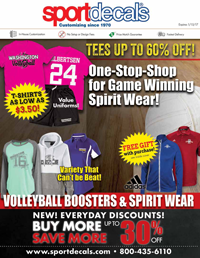Volleyball Booster Catalog 2016