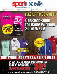 Volleyball Fanwear Catalog 2016