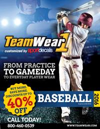Baseball 2016 Catalog