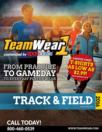 Track & Field / Cross Country 2015 catalog
